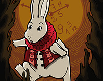 Alice in Wonderland - White Rabbit