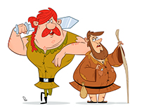 Robin Hood Character Design
