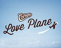 Cornetto / Cornetto Love Plane / Digital Event