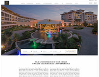 Luxury Hotel Website, ReDesign 2019
