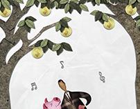 Paper Cut Art Style