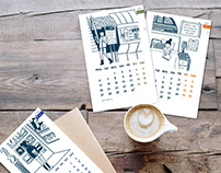 Monthly Calendar | Product Line