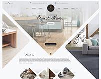 UI/UX website for flooring industry