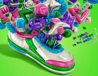 Sneaker Freaker - Balloons