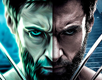 Digital Paint Wolverine