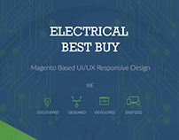 Electrical Bestbuy - Responsive Magento Website