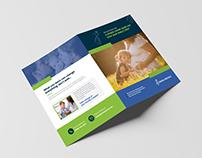 Medical Healthcare bi-fold Brochure Template
