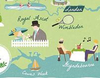 The 'Summer Season' for Discover Britain Magazine.