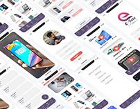 Mobile UI Design For eTubeTech Application