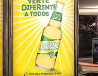 Cerveza Soberana – Brand identity
