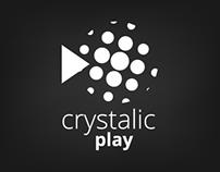 CRYSTALIC Play | Logo & Bumper | Diseño Multimedial