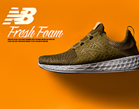 New Balance - Fresh Foam Cruz // Green Triumph