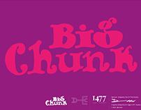 Big Chunk Typeface Design