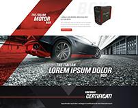 THE ITALIANBOX Website Redesign