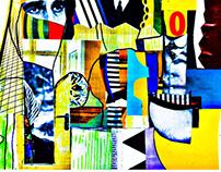 Shrillness // Collage&Digital