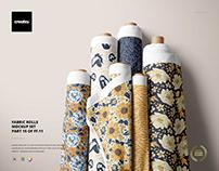Fabric Rolls Mockup Set (14/FFv.11)