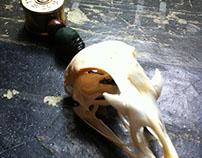 Pheasant and Duck Skull Mirror Hangers