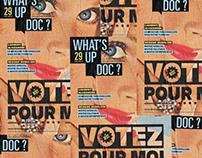 Magazine What's Up Doc #29 Votez pour moi