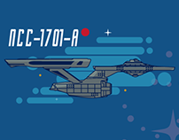 Star trek infographics.