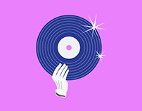Google Play Music Illustrations