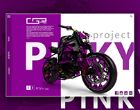 Pinki project Ui