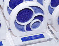 Troféu Prêmio Fundação banco do Brasil