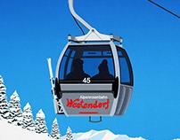 Westendorf Ski Poster
