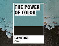 PANTONE the power of color