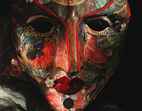 Harlequin Mask