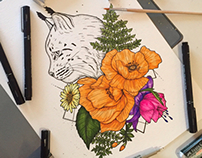 Lynx Tattoo Design