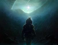 """""""Alien"""" Film Tribute Fan-Poster"""