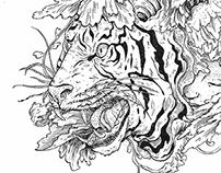 """The Roar Roar Tiger and The Fire Bird"""