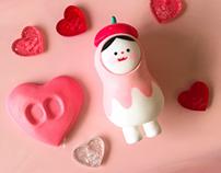 Valentine's Day Kong _ pink ver.