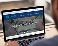 Web Design for Quaza Solutions