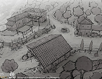 Assassin's Creed Origins sketches