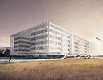 Library in Berlin - Tempelhof | Master Project