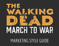 The Walking Dead: March to War Marketing Style Guide