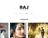 Website Design - Raj Photography