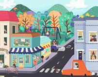 Town·Ilustration·