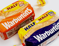 Warburtons Half & Half packaging