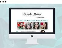 Tema Dicas da Marina - Blogger