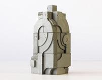 Concrete Urn / No.21