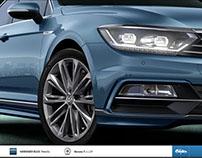 VW The new Passat Visualizer