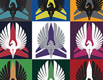 DarkHorse DesignWorks Logo Collage