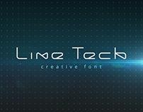 LineTech font