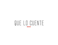 Branding: Que Lo Cuente