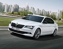 Škoda Superb SportLine IAA press images