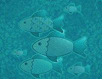 Blue fishies