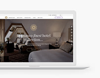 Website for the Bognanco Resort