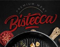 Bistecca Menu Design